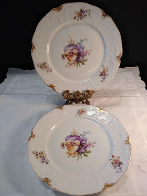 Antique Bavaria China plates for Sale in Portland, OR