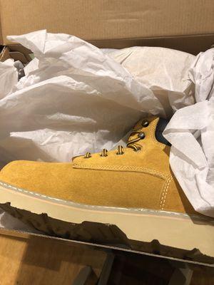 Men's steel toed work boots Size 10 for Sale in Virginia Beach, VA