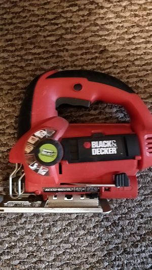 Black & Decker portable jig saw item is not sold! for Sale in Lynchburg, VA