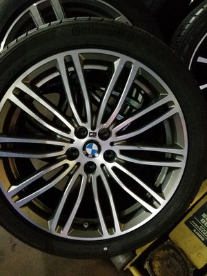 BMW rims for sell with new tires for Sale in Bladensburg, MD
