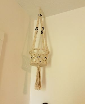 Macrame plant holder for Sale in Tavares, FL