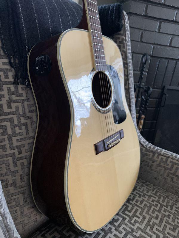 Washburn Acoustic Guitar D10ST