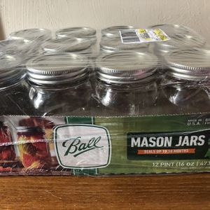 Mason Jars, New In package for Sale in Newport News, VA