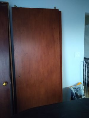 Mahogany room and closet doors for Sale in Seattle, WA