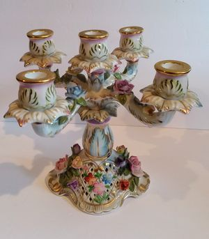 Beautiful Porcelain Candelabra for Sale in Puyallup, WA