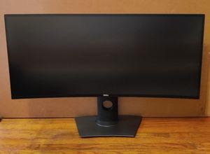 "Dell U3417W Ultrasharp Curved 34"" 3440X1440 Monitor for Sale in Foxcroft Square, PA"