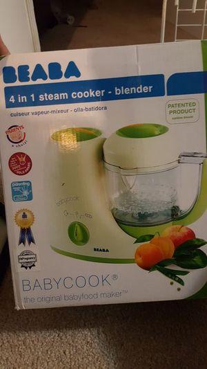 BEABA baby stream cooker blender for Sale in Sykesville, MD