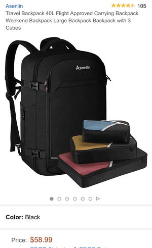 New Asenlin Travel laptop backpack selling for $58 on Amazon for Sale in Camarillo, CA