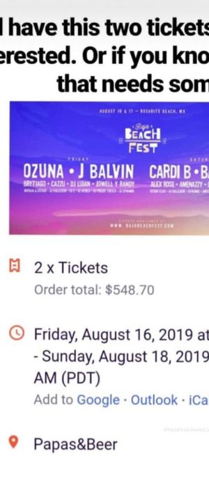 Beachfest tickets for Sale in Los Angeles, CA