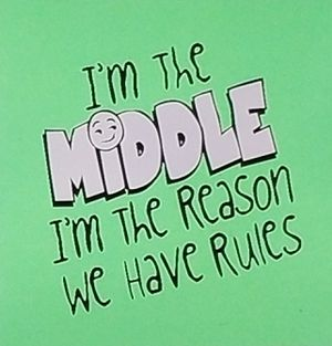 I'm the middle I'm the reason we have rules shirt for Sale in Florence, MS