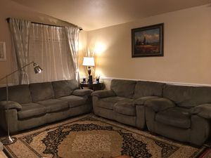 Sofa couches with Ottoman for Sale in Chandler, AZ