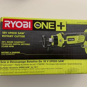 Ryobi Rotary Cutter 18V Speed saw for Sale in Los Angeles, CA