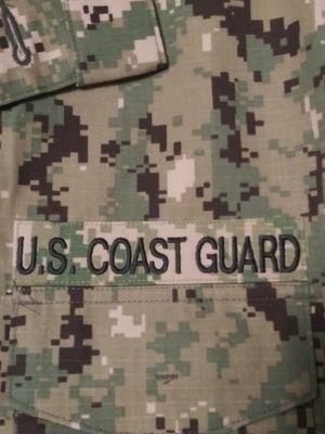 U. S. Coast Guard Camo jacket shirt for Sale in Tacoma, WA