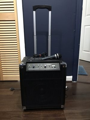 Speaker karaoke for Sale in Manassas, VA