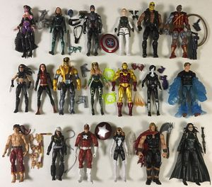 Marvel Legends Action Figures Thor Iron Man Hela Captain America Shang Chi for Sale in River Grove, IL