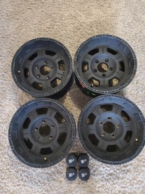 Pro Comp 16X8 Jeep Wheels for Sale in New Salem Borough, PA