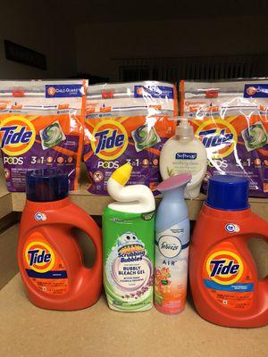 Tide Laundry Bundle - $31 Retail Value for Sale in Pickerington, OH