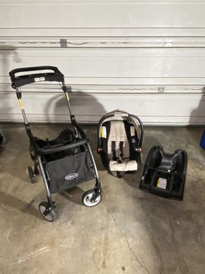 Graco quick connector stroller and car seat set for Sale in Vancouver, WA