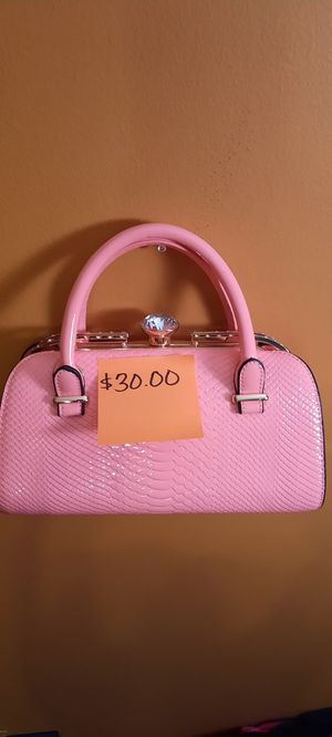 WOMENS PINK HANDBAG for Sale in Riverdale, GA