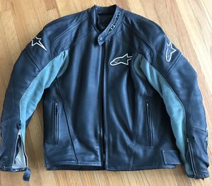 Alpinestars TZ-1 Motorcycle Leather Jacket for Sale in Chula Vista, CA