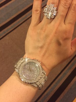 Unisex Gold Bond Sparkly Watch for Sale in Dallas, TX