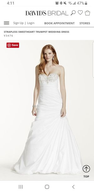Used Wedding Gown Size 12 for Sale in Markham, IL