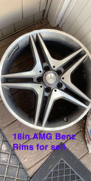 4 Mercedes Benz 18 inch Rims for Sale in Wallingford, CT