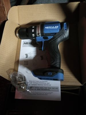 Hercules 1/2 inch drill driver for Sale in Tacoma, WA