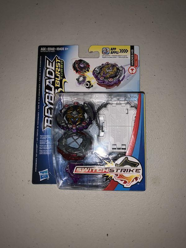BEYBLADE BURST Switchstrike HADES H3 Metal DR56/TB02 Hasbro Aka Dead Hades