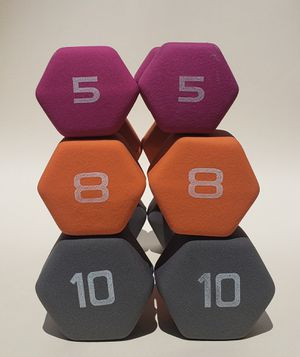 42 lb Neoprene Dumbbell Weight Set for Sale in Albuquerque, NM
