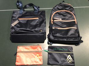 NEW 4 piece backpack, tote, small bags matching set for Sale in Arvada, CO