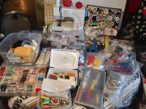 Kenmore sewing machine and kits for Sale in Raleigh, NC