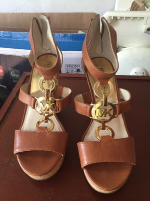 Almost new Michael Kors wedge Sandals size 6M for Sale in Rockville, MD