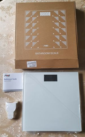 Bathroom Scale with Large Anti-Slip Matte for Sale in Huntersville, NC
