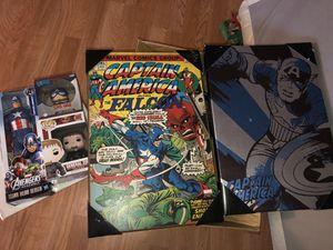 Captain America stuff for Sale in Kennewick, WA