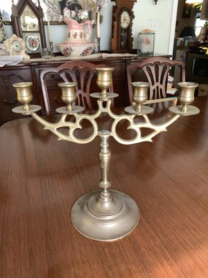 Vintage Brass Candelabra for Sale in Dunn, NC