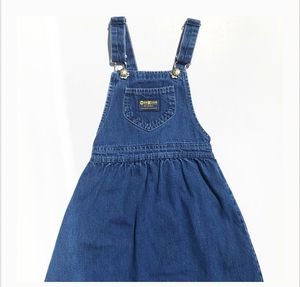 Vintage Oshkosh B'Gosh Denim Overall Jumper Dress for Sale in San Antonio, TX