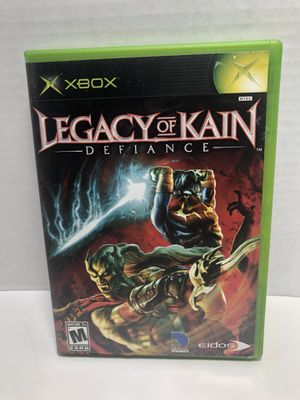XBOX Legacy Of Kain Defiance game complete with manual for Sale in Los Angeles, CA
