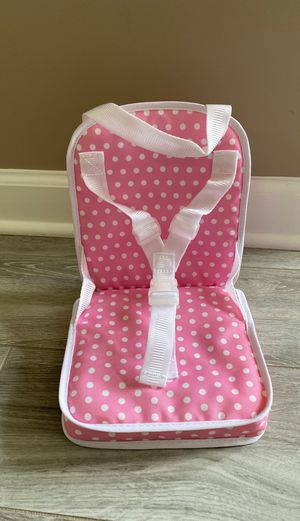 """Pottery Barn Kids 18"""" American Girl Doll size Travel Chair for Sale in Bartlett, IL"""
