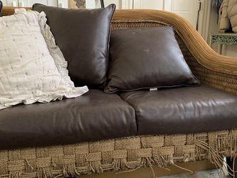 Rattan Weave Sofa for Sale in Philadelphia,  PA