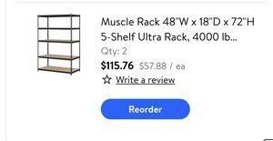 Shelves (2) for Sale in Fresno, CA