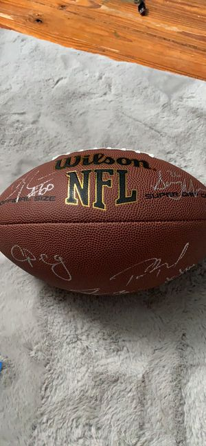 2019 Autographed Tom Brady And More! With COA for Sale in Weston, WV
