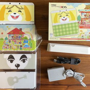 USED 'new' Nintendo 3DS Animal Crossing Happy Home Designer Edition for Sale in Seattle, WA
