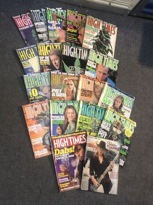 16 High Times & 3 Best of High Times Magazines for Sale in Worcester, MA