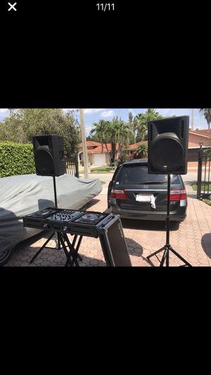 SISTEMA DE SONIDO DJ PROFESIONAL for Sale in Miami, FL