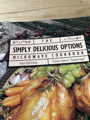 Microwave Cookbook for Sale in San Antonio, TX