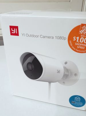 Yi outdoor camera 1080p for Sale in Diamond Bar, CA