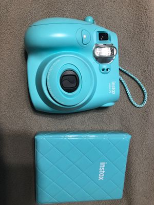 Instax camera with photo book with case for Sale in Greenville, SC