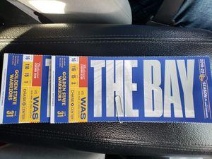 2 Warrior tickets for Sale in Sacramento, CA
