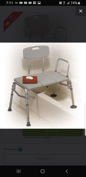 Transfer Tub Bench for Sale in Whittier, CA